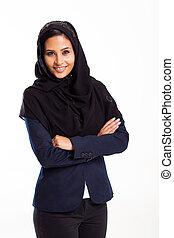 modern Arabic businesswoman