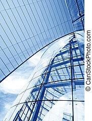 Modern architectural design - Futuristic business center...