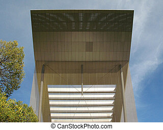 Modern Architecture - Carlton Gardens, Melbourne, Australia