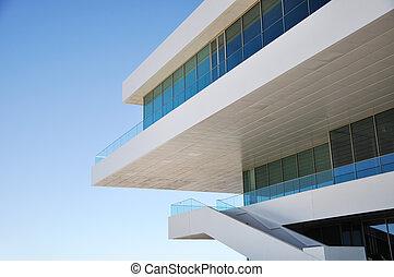 Modern architecture detail - Detail of modern architecture...
