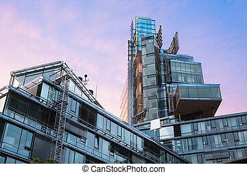 Modern architecture in Hamburg