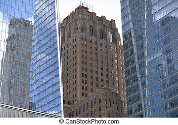 Modern architecture of New York city, USA