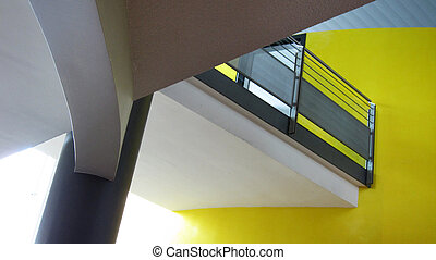 office building - modern architecture - office building with...