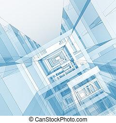 modern, Architektur