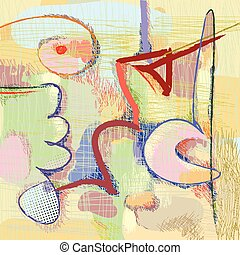 modern art abstract painting