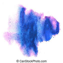 modern art avant-guard texture blue, violet background...