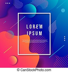 Modern Art Deco background template