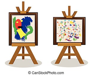 Modern Art Pieces 2