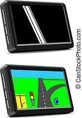 Modern auto GPS navigation system