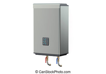 Modern automatic electric boiler, water heater