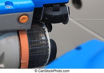 modern automatic spinning machine