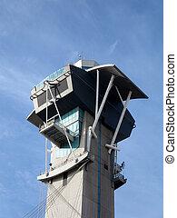 Modern Aviation Watch Tower