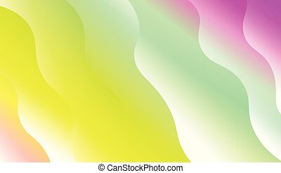 Modern Background With Dynamic Effect. For Futuristic Ad, Booklets. Vector Illustration with Color Gradient.