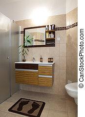 modern, badezimmer