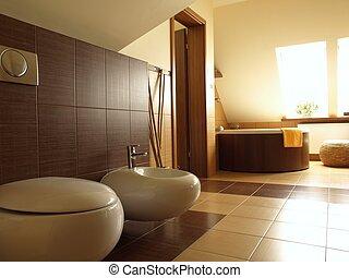 Inneneinrichtung badezimmer modern horizontal ansicht for Inneneinrichtung badezimmer