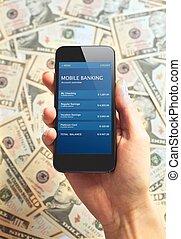 Modern Bank Transaction Done Online