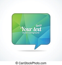 Modern banner Design template for text