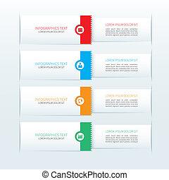 modern, banner, geschaeftswelt, infographics