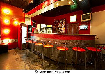 Modern bar - Modern and beautiful bar in a night club