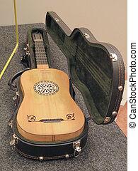 (modern, barock, gitarre, replica)