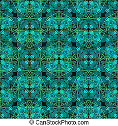 Modern Baroque Seamless Pattern