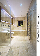 Modern Bathroom - Modern, contemporary Luxury Bathroom with...
