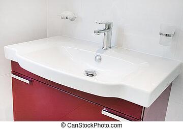 modern bathroom sink unit