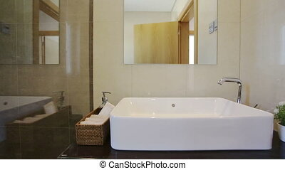 Modern bathrooms for human health and comfort. - Modern...