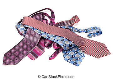 modern beautiful ties