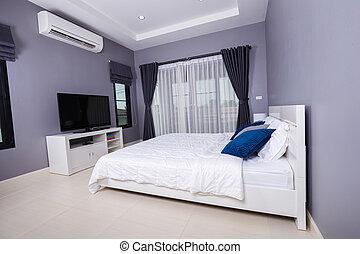 bedroom interior in home