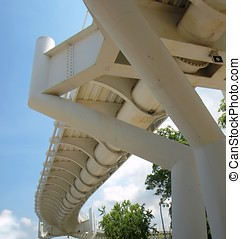 Modern Bicycle Overpass