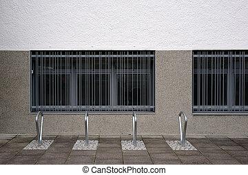 Modern bike racks