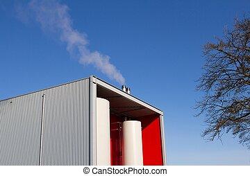 Modern Biomass power station