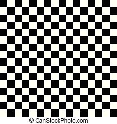 Modern black and white chess board background. Vector