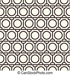 Modern Blackwhite Abstract Seamless Repetition Pattern - ...