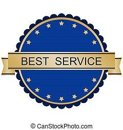 best service sign