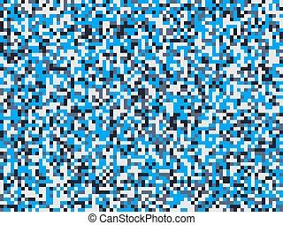 Modern blue camouflage seamless pattern