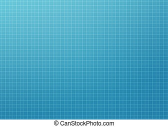 Clean, abstract, modern, blueprint background with light grid.