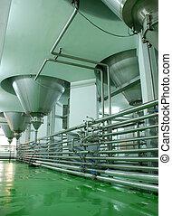 Modern Brewery in Veliko Tarnovo ,Bulgaria. The Plant is one...