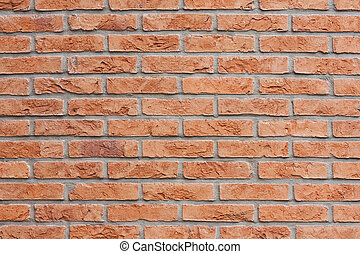 Modern brick wall as background