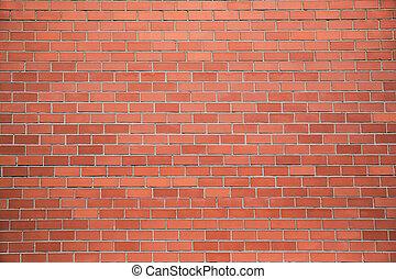 Modern brick wall, red brick wall or brown brick wall textur...