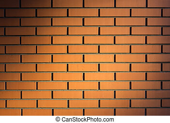 Modern brick wall, red brick wall or brown brick wall textur...