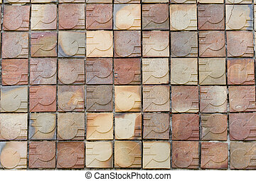 modern brick wall texture background
