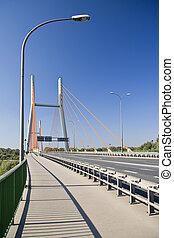 Modern bridge.
