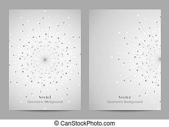 Modern brochure cover design - Modern vector templates for...