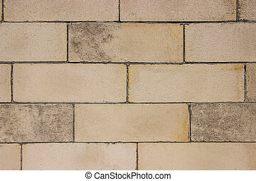 Modern brown brick wall background for building interior and exterior design decoration.