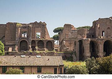 Modern Building by Roman Forum