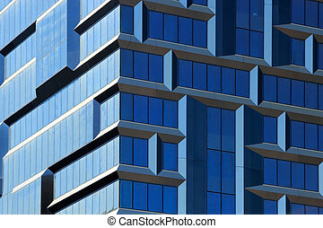 modern building closeup