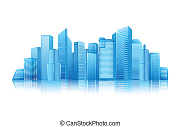 Modern Building - easy to edit vector illustration of modern...