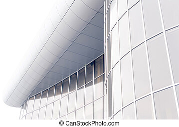 modern building exterior - grey office building winadowns...